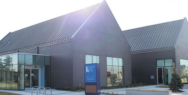 photo of the renovated Binbrook Branch