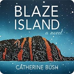 Blaze Island book cover logo
