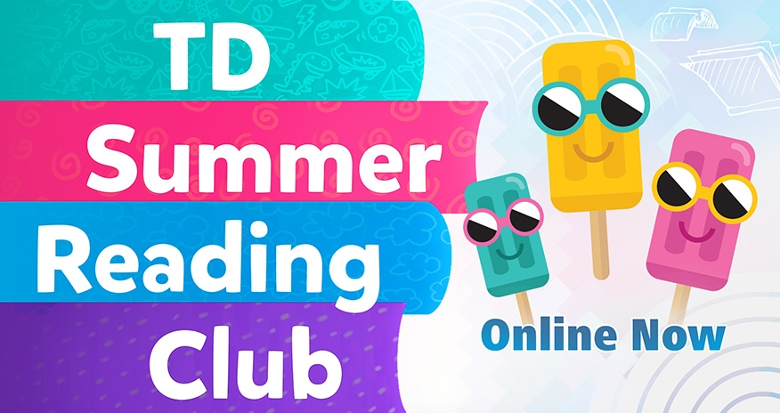 Summer Reading Club 2020. Online now!