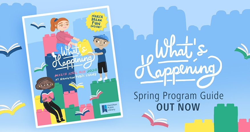 HPL What's Happening Spring Program Guide Out Now