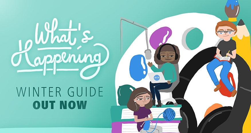Hamilton Public Library What's Happening Winter Guide Out Now!